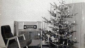 Retro Vánoce v bytě ze šedesátých let!