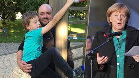 Angela Merkelová se setkala s Čechem, jehož ženu zabil v Berlíně terorista.