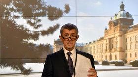 Zasedání vlády Andreje Babiše (ANO), na kterém kabinet projednával návrh programového prohlášení.