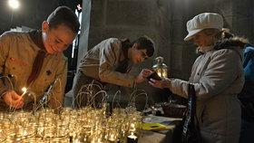 Na Praze 9 se 23. podělí skauti o Betlémské světlo. (ilustrační foto)