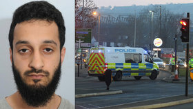 Policie zatkla domnělého teroristu Mohameda Awána.