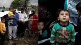 Krize v uprchlickém táboře Moria