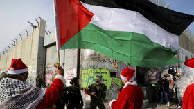 Protesty Palestinců proti uznání Jeruzaléma hlavním městem Izraele