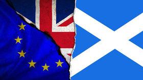 Skotové o brexitu.