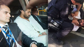 Útočník z Melbourne Saeed Noori.