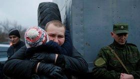 Výměna zajatců mezi Ukrajinou a proruskými separatisty