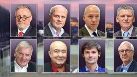 Osm kandidátů na prezidenta se střetne v debatě Blesku: Topolánek, Horáček, Fischer, Hynek, Kulhánek, Hannig, Hilšer a Drahoš proti sobě.