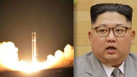 Kim Čong-un nařídil sestrojit dosud největší severokorejskou střelu.