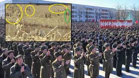 Severokorejští vojáci trpí hladem.