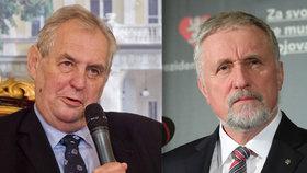 Kandidát na prezidenta Mirek Topolánek na tiskové konferenci sdělil, co mu na současné hlavě státu Miloši Zemanovi vadí.