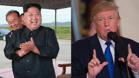 Mezi Trumpem a Kimem vládne trapné poměřování jaderných knoflíků.