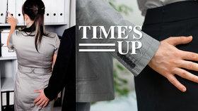 Iniciativa Time's Up chce pomoci sexuálně obtěžovaným ženám na pracovištích. (Ilustrační foto)