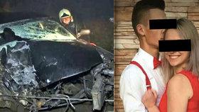 Rodiče Majky viní z její smrti Štefana, který řídil vybourané auto.