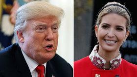 Ivanka odhalila tajemství Trumpovy přehazovačky.