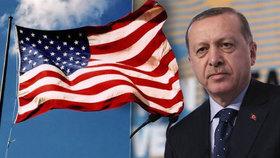 Erdogan zaútočil na USA. Podle něj vedou vůči Turecku několik spiknutí.