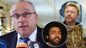 Politik AfD pronesl rasistický výrok o synovi Borise Beckera.