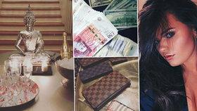 Dcera dvou tatínků Saffron Drewitt-Barlow (18) je zvyklá na život v luxusu.