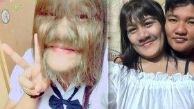 Nejchlupatější dívka světa si začala holit obličej.