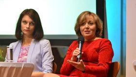 Debata žen kandidátů na prezidenta: Klára Fischerová, manželka Pavla Fischera