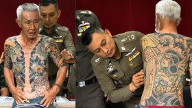V Thajsku dopadli mafiánského bosse. Usvědčilo ho tetování.