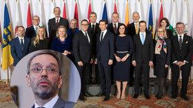 Rakouská vláda.