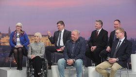 Poslední debata Blesku před volbami prezidenta: Zástupci parlamentních stran mluvili o tom, koho podporují.