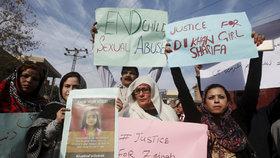 Pákistánce pobouřila brutální vražda sedmileté holčičky.