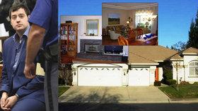 Rozlehlá luxusní vila na severozápadním předměstí Roseville, města nedaleko kalifornského Sacramenta. Zde žil s rodiči Kevin Peter Dahlgren. Ten spáchal sebevraždu 11. ledna 2018 ve věznici ve Valdicích.