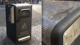 V Praze 1 se testovaly chytré odpadkové koše. Jak jejich testy dopadly?