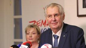 Miloš Zeman doufá, že v druhém kole budou voliči spoléhat hlavně na vlastní rozum a ne na doporučení kandidátů, které podpořili v prvním kole, prohlásil to na tiskové konferenci k výsledkům voleb