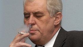 Miloš Zeman na archivním snímku