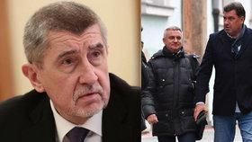 Andrej Babiš se navezl do kancléře Mynáře a Zemanova poradce Nejedlého.