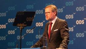 Zakončení kongresu ODS