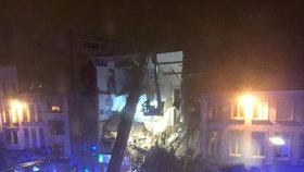 Exploze v Antverpách letos v lednu poničila tři domy.