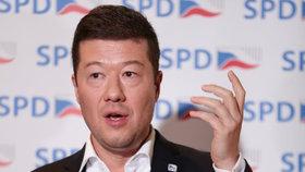 Tomio Okamura, šéf SPD