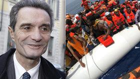 Attilio Fontana vyslovil rasistické poznámky o migrantech.