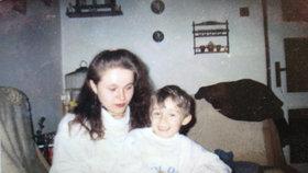 Maminka Ivana s malým Honzíkem