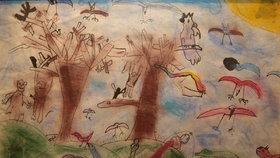 Zbyl po něm jen obrázek, který nakreslil v 1. třídě