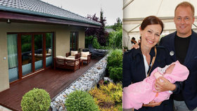 Jak bydlí misska Doleželová s milionářem Trundou? Prošmejděte její dům!