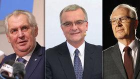 Drahoš udělá Kalouska premiérem, tvrdí nový útok. A Zemanovi se zle vysmál kritik