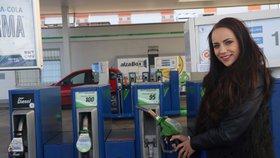 Litrbenzinuu ústeckých čerpacích stanic stojí v průměru za 27,67 Kč, litr nafty je průměrně za 26,68 Kč.