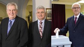 Chlad u korunovačních klenotů, odmítnutý oběd: Štěch promluvil o volbách i Zemanovi