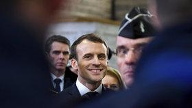 Francouzský prezident Emmanuel Macron v Calais promluvil o migraci.