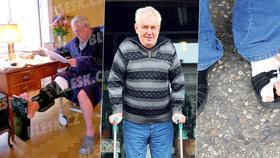 Operace zubů, špatné nohy i ledviny plné moči: Zeman neskončil v nemocnici prvně