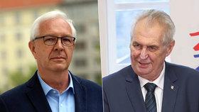 V druhém kole proti sobě stojí Jiří Drahoš a Miloš Zeman.