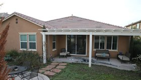 Domeček v Kalifornii obsahoval 4 místnosti.