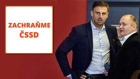 V Táboře se sešla názorová platforma Zachraňme ČSSD v čele s bývalými hejtmany Jiřím Zimolou a Michalem Haškem.