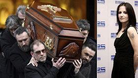 Pohřeb Dolores O'Riordan: Zpěvačku vystavili v otevřené rakvi