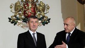 Babiš jedná v Sofii s Borisovem, premiérem předsednické země EU.