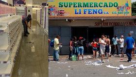 Rabování ve Venezuele